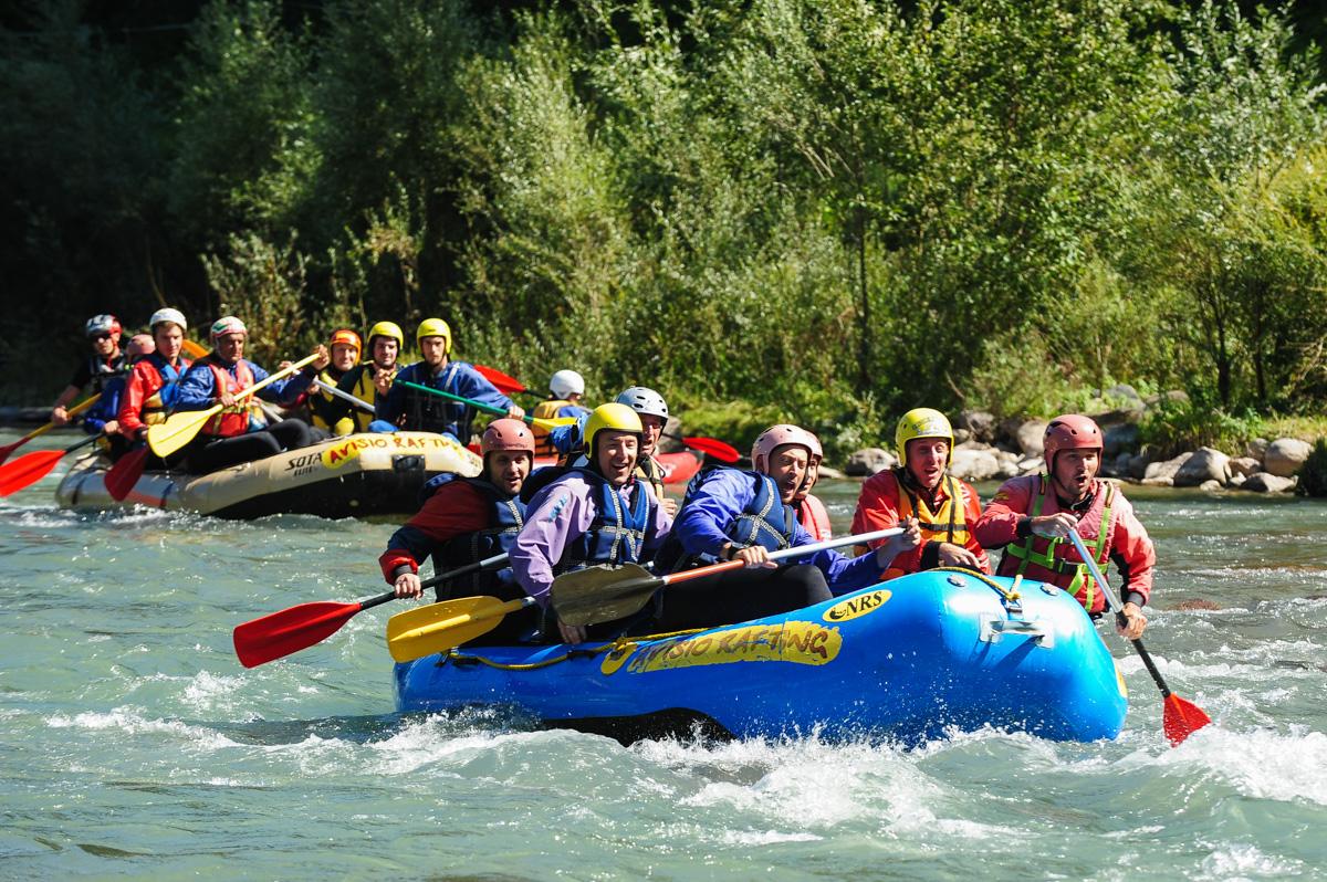 avisio-rafting-con-la-nazionale-di-pallavolo-italiana-val-di-fiemme